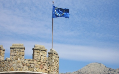 europa bandiera a